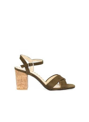Divarese 5021248 Kadın Sandalet Haki